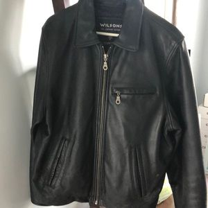 Men's Wilson Leather coat Large